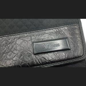 Versace diamond quilt and Crocodile hand bag